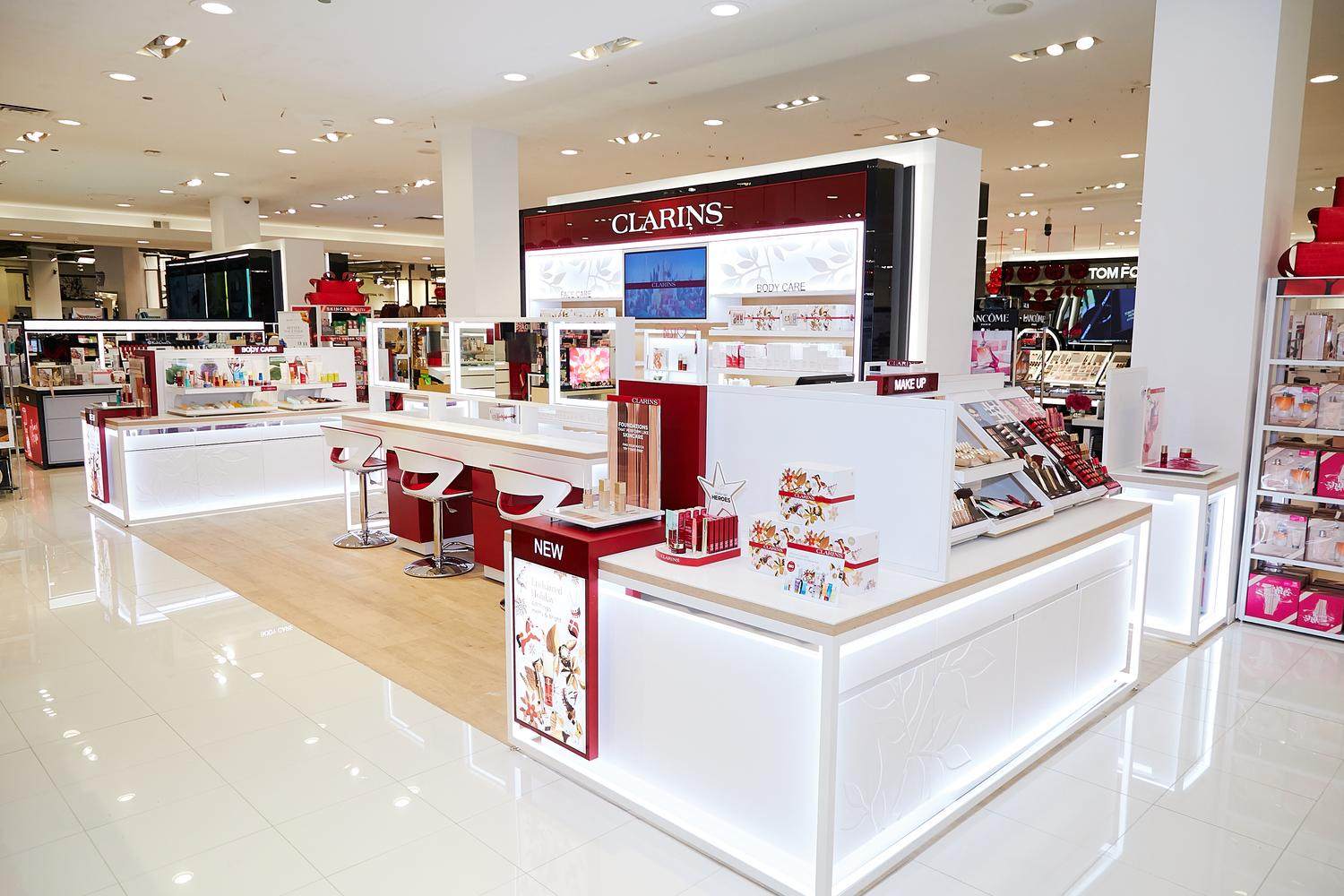 Installation - CLARINS - MEDIA6 IMG