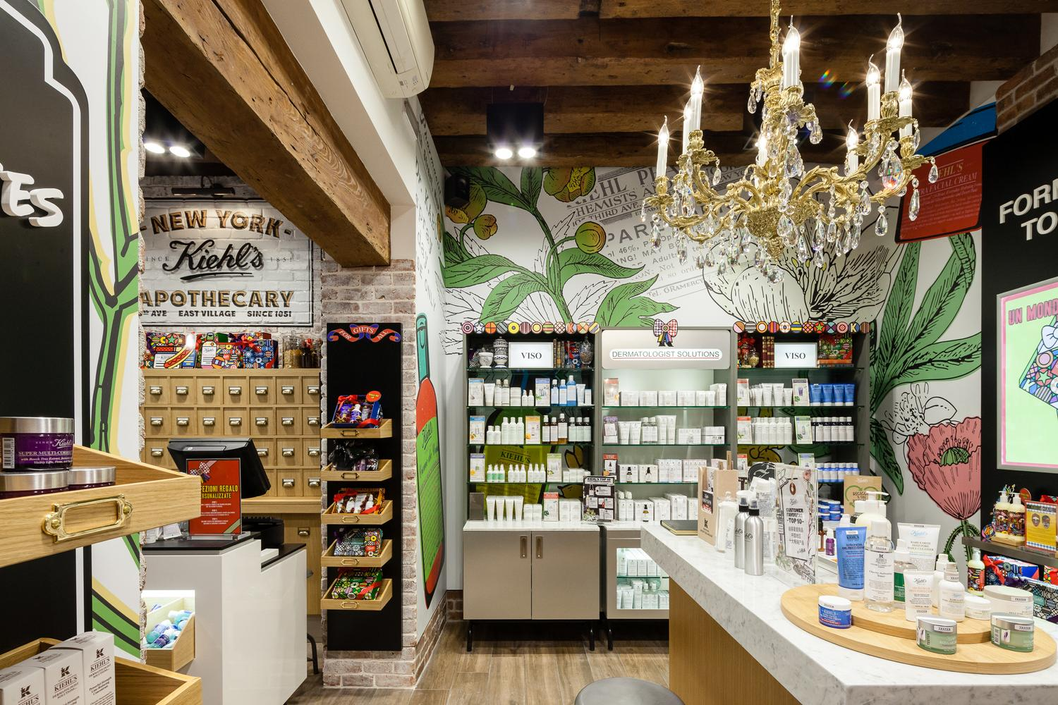 agencement boutique kiehls