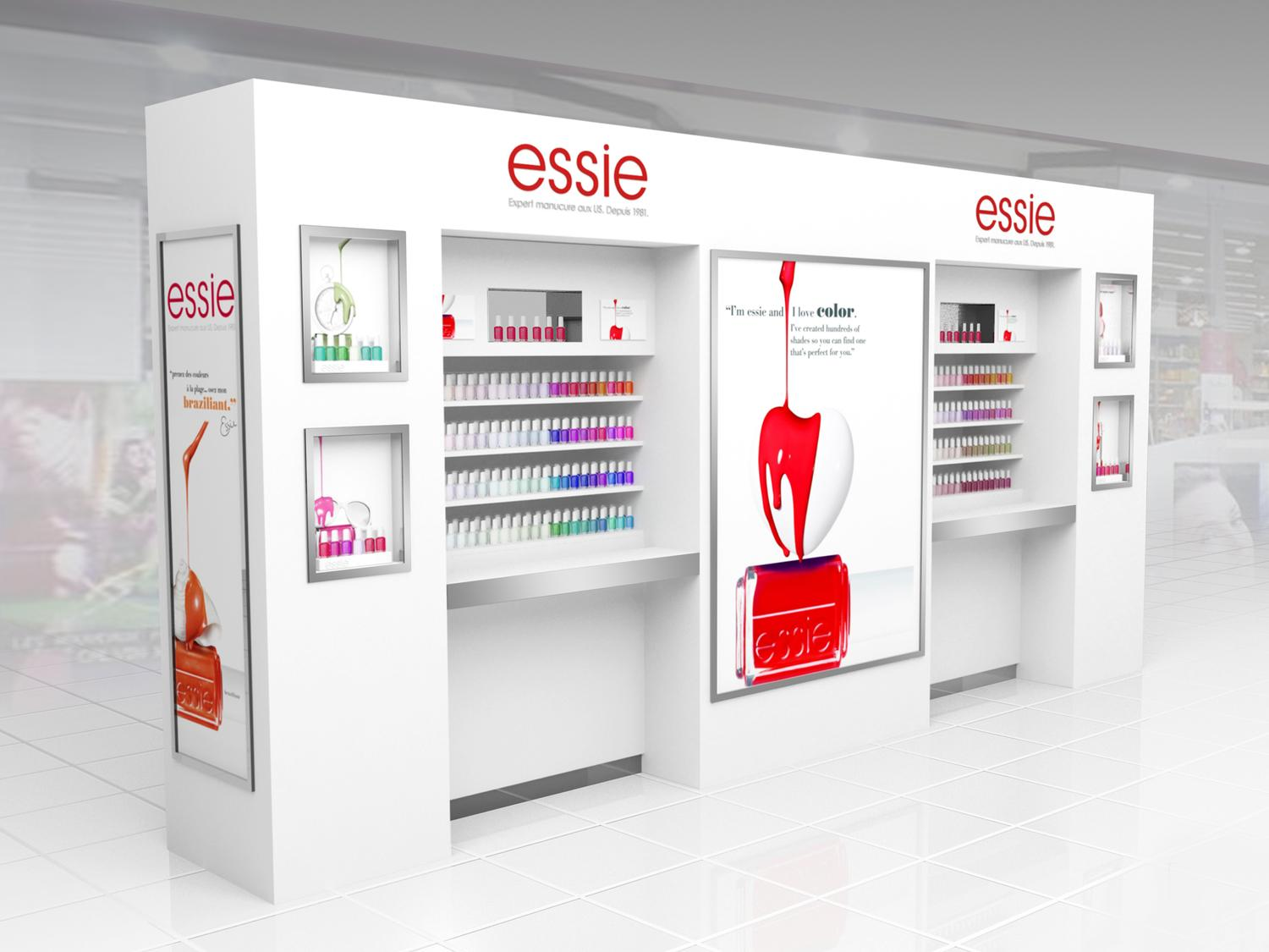 pop up store essie