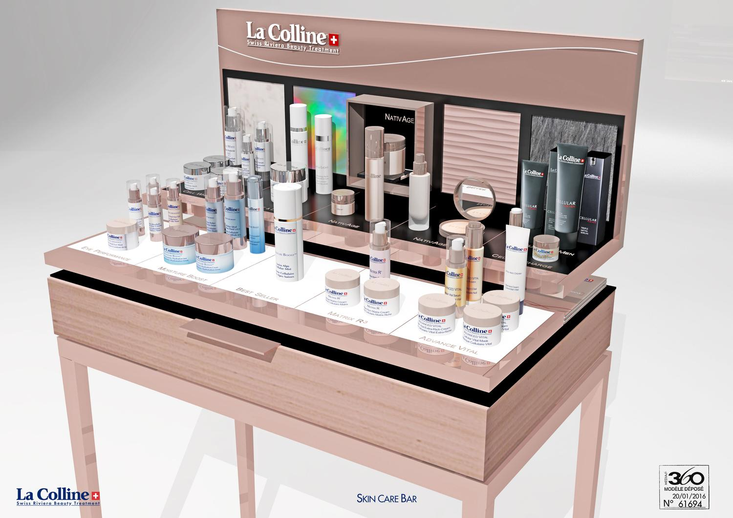 bar skin care la colline