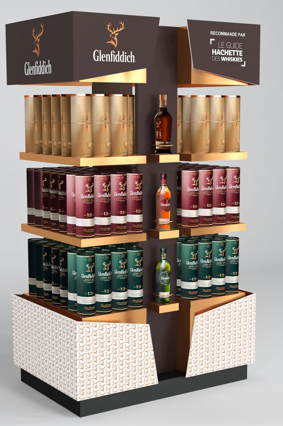 Display Glenfiddich
