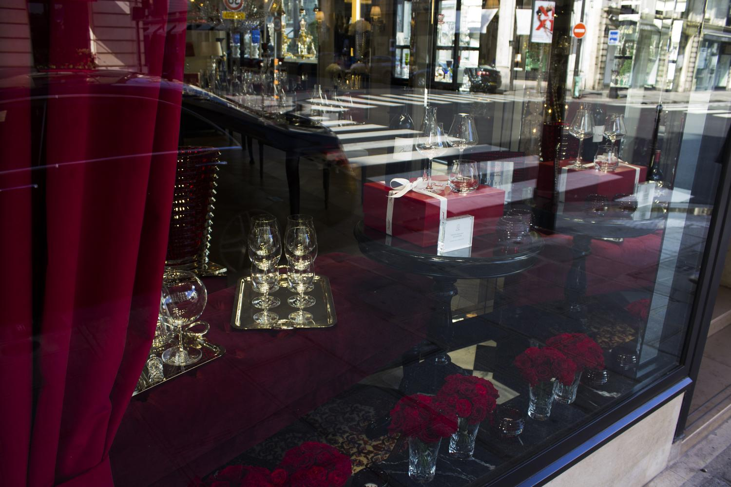 Vitrine Luxe Baccarat
