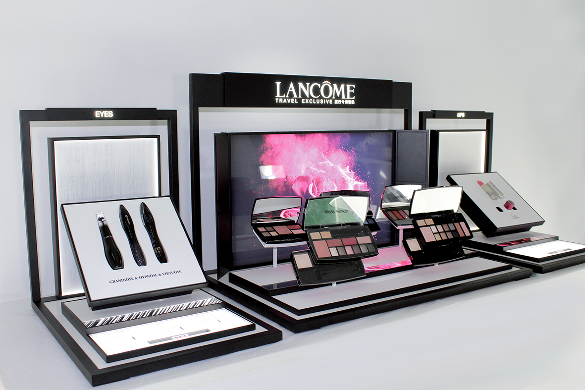 plv permanente media6 - bar lancôme