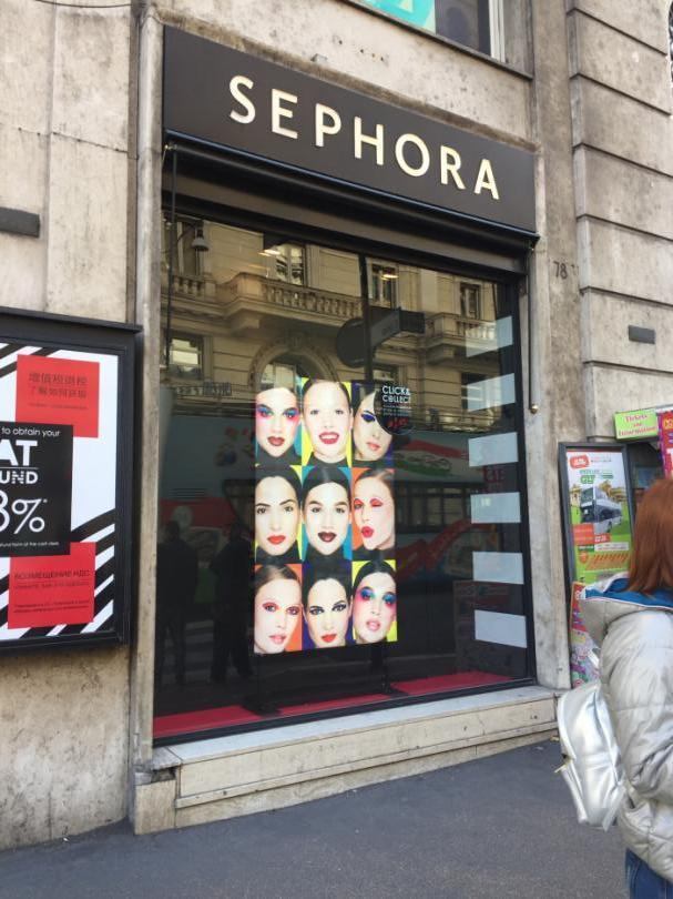 Sephora Lightbooth